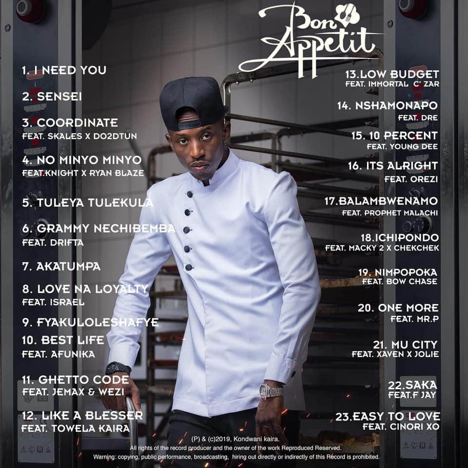 Bon appetit album
