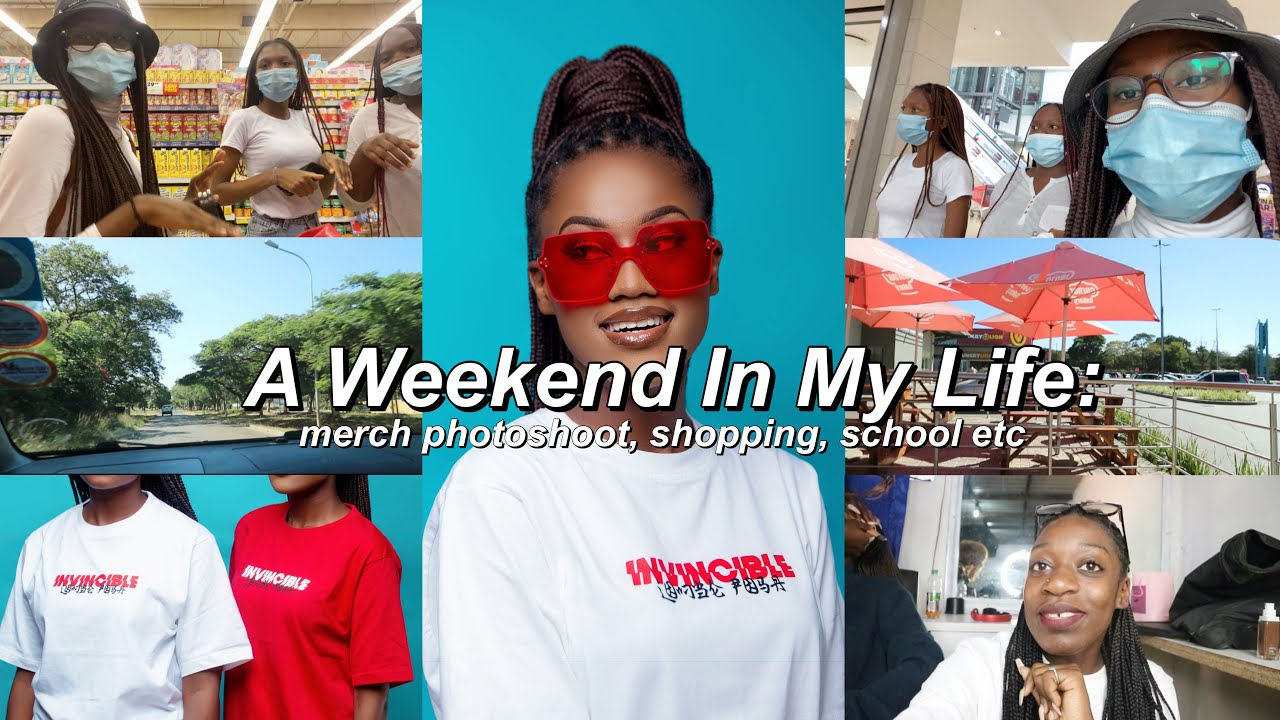 Lombe Posa – A Weekend in my life,new merch photoshoot +more!