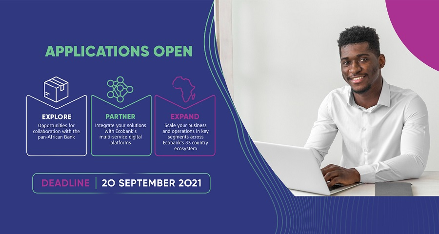 Ecobank launches 2021 edition of its fintech challenge for African startups